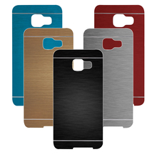 For Samsung Galaxy A3 A5 2017 case J3 J5 J7 2015 2016 Grand Prime S3 S4 S5 mini phone cases Brushed Aluminum Metal and Plastic