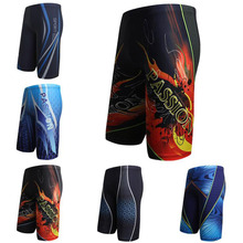 Buy Men Swim Shorts Swimming Pool Trunks Briefs Multi Prints Boxer Beach Surf Long Swimwear Swimsuit Bathing Suit Wear L XL XXL XXXL