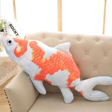 Large Size plush Toys New Style goldfish plush Toys Cute China Fish Cloth Doll pillow Cushion Stuffed for gift(China)