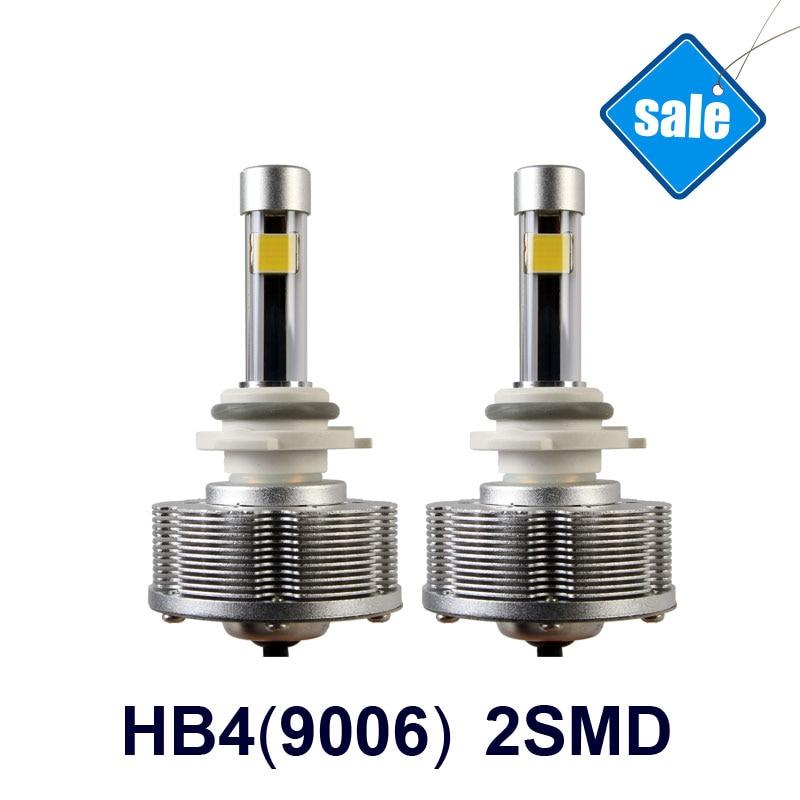 Hot Sale HB4 9006 LED Fog Lamps  Automobiles Trucks LED Cars BulbsExternal Lights 2SMD High Power 20W 6000K DC 12V 40V<br><br>Aliexpress