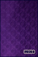 Wholesale Latest design african head tie jubilee Gele & Wrapper 2pcs/set High Quality purple color(China)