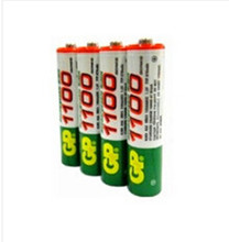 4pcs/lot original GP aaa rechargeable battery 1100mah / gp 1100  / rechargeable battery gp batteries 1.2V Ni-MH + Free shipping