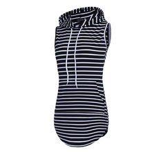 Popular Fashion Novelty Necessaries Supplies Hoodie Sweatshirt Stripe Dress 2017 Magic Lovely Practical Stylish(China)