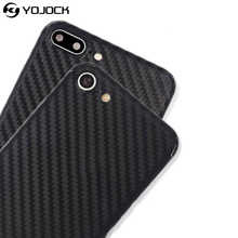 Yojock Phone Sticker Case for iPhone 7 plus 360 Full Body Decal Skin Carbon Fiber Film Protector Sticker Wrap Case for iPhone 7