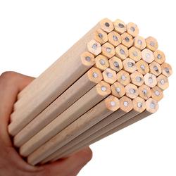 10 шт./лот экологичный карандаш из натурального дерева HB черный шестиугольный нетоксичный Стандартный Карандаш милые Канцтовары офисный шк...
