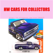 New Arrivals 2017 Hot Wheels 1:64 Purple 69 Chevy C10 Metal Diecast Cars Collection Kids Toys Vehicle For Children Juguetes(China)