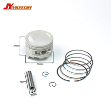 BSE bosuer 250cc Engine Piston And Piston Ring Set 65mm for Bosuer J2 Dirt Pit Bike parts Free shipping(China)