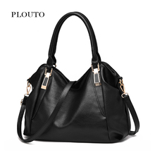 Plouto Women Handbags Messenger Bags for Women 2017 Female PU Leather Bolsas Feminina Ladies Hobos Crossbody Bag bolso mujer(China)