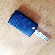 Car Key Shell For Great Wall H3 Flip Remote Key 3 Button Case Key Car Smart With Battery Clamp Car Flip Key Shell