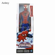 Marvel Amazing Spiderman Ultimate Spider-man PVC Action Figure Collectible Model Toy 30cm 12""