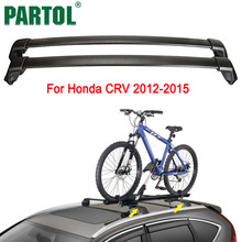 Buy Partol Black Car Roof Rack Cross Bar Crossbars Top Box Cargo Luggage Carrier Roof Rack Cross bars 150LBS Honda CRV 2012-2015 for $70.84 in AliExpress store