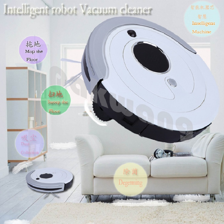 Auto robot vacuum cleaner china new innovative product with 800ml dustbin UV Lamp Auto recharge Vacuum Cleaner Free shipping(China (Mainland))