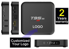1pcs by Post T95m-1gb/8gb Custom Made 2 years warranty Amlogic S905x A53 64bits Google Android Smart IPTV TV OTT boxes