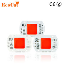 ECO Cat LED lamp Red Green Blue 20W 30W 50W 220V 240V LED COB Chip Smart IC Driver Fit For DIY LED Spotlight Floodlight LED Bulb(China)