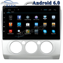 New 1024*600 Quad Core 10.2inch Android 6.0 Car Radio player for Ford Focus 2 MANUAL With Bluetooth 16GB Nand Flash Wifi Maps