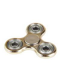 2017 Tri-Spinner Fidget High-Speed Hand Spinner Triangle Plastic ABS Steel Balls Bearing Finger Fidget Toy Anti Stress(China)