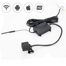 1/3 inch CMOS H.264 WiFi Night Vision IP66 Car Rear View Parking Reversing Camera Cam for Android Device