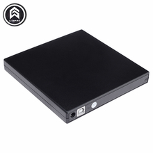 Portable External Slim USB 2.0 DVD-RW/CD-RW Burner Recorder IDE chip Optical Drive CD DVD ROM Combo Writer For laptop PC