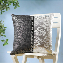 Home small fashion patchwork silver sofa pillow cushion set fashion luxury core