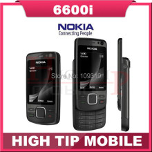 6600I slider Original Unlocked Nokia 6600i mobile phone quad band phone  FM bluetooth 5MP JAVA Free shipping Refurbished