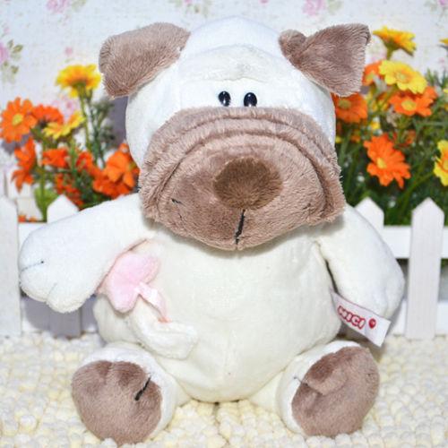 Plush toy stuffed doll NICI cute dog puppy shar-pei Shar Pei Sharpy lover Christmas Valentines Day birthday gift 25cm 1pc<br><br>Aliexpress