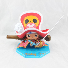 One Piece Red Clothes Chopper Action Figure Tony Tony Chopper 1/9 scale painted figure fighting chopper PVC ACGN figure Anime(China)