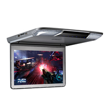 11.6 inch Full HD 1920*1080 TFT Car Monitor Roof Mounted Overhead Car Flip Down Monitor-Set Video Player Display USB SD HDMI