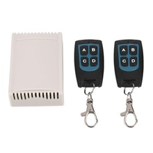 12V Remote 4CH Channel RF Wireless Remote Control Relay Switch 2 Transceiver +Receiver for came gate remote control