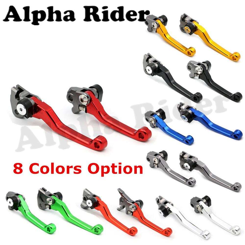 Pair CNC Pivot Clutch Brake Levers for Honda CR125R/250R CRM250R/AR XR230 XR250 XR400 MOTARD CR80R/85R CRF 250R 250X 450R 450X<br><br>Aliexpress