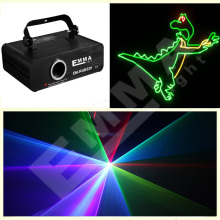 2016 new Arrival 500MW RGB Laser projector patterns led Club Party Bar DJ light Dance Disco party Stage Lights show system