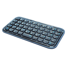 Mini Bluetooth Wireless Keyboard for iPhone 4 i Pad MAC OS PS3 Droid Smart Phones PC Computers Bluetooth Portable Keyboard(China)
