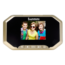"3.0"" 2.0MP Professional Color Screen LCD Peephole Viewer Camera Door Eye Viewer Digital Video record"