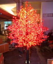 Free ship 2M/6.6ft LED Maple Leaf Tree Light Wedding/Garden/Holiday/Christmas Decor New 1296 Pcs Led