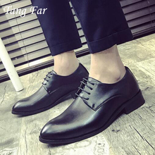 Mens Dress Italian Leather Shoes Luxury Brand Formal Male Shoes Slip On Business Men Mocassins Shoes(China)
