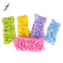 Hot Sale!Randomly color New Women Girls Towel Face Wash Shower Spa Makeup pajama party Hair Headband Headwear Accessories(China)