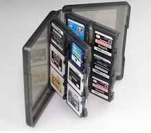 28 in 1 3DS/DS I/DSXL/Game Card Storage Box for SD TF Stylus Box Case Container For Nintendo 3 DS XL LL Protective Boxes
