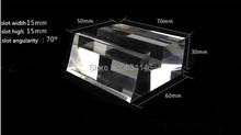 Free Shipping High - grade Crystal Mobile Cell Phone Display support Holder stand Racks Clear Acrylic large screen show