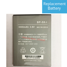 New 3000mAh BP-5X-i Replacement Battery For Highscreen Boost 2 II SE Innos D10 D10C D10F D10CF Mobil Phone Batteries(China)