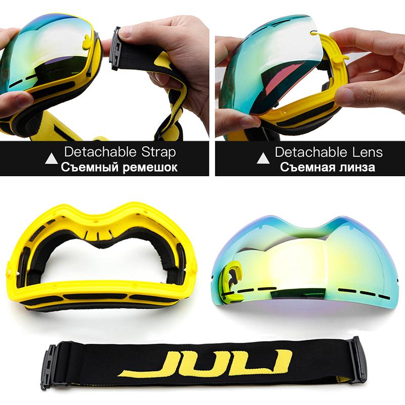 snowboarding goggles