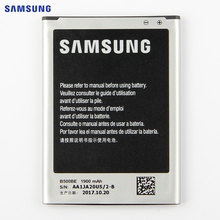 100% Original Replacement Battery B500AE For Samsung GALAXY S4 Mini I9190 I9192 I9195 I9198 B500AE B500BE Phone Battery 1900mAh(China)
