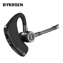 Original Business Bluetooth Earphone Noise Cancelling Voice Control Wireless Headphone Driver Sport Headset for iPhone Android