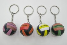 20pcs Volleyball bag Pendant mini volleyball gift plastic small Ornaments sports advertisement souvenirs(China)
