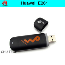 Unlock HUAWEI E261 WCDMA 3G Wireless Network Card USB Modem Adapter For Android DVD Desktop Laptop Ipad free shipping(China)