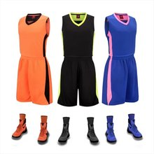 Men' Basketball kits adult basketball Training Jerseys and shorts male Breathable comfortable soft Basketball Running uniforms