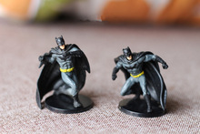 Hot Toy 6CM Garage Kit Figurine DC The Batman The Dark Knight Doll Action pvc Collectible Loose Figure Model Toy for Kids Gifts(China)
