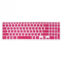 8 Colors to Choose US Keyboard Skin Cover Protector Film for Dell New Inspiron 15C 15CR 15MD 5CD 15MR 15M 15UR 15U