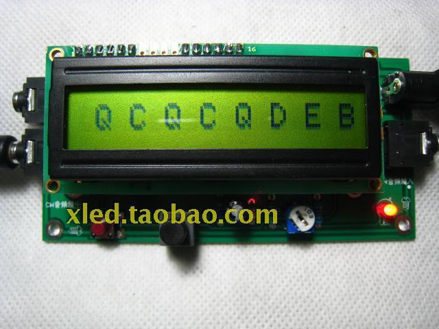 Free Shipping! New version CW decoder / Morse code decoder / Morse code reader<br>