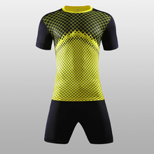 Mens Football Jerseys Set Soccer Training survetement football 2016 2017 Breathable Soccer Suit Jerseys Customized Sports Kits(China)