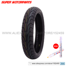 110/70-17 Motorcycle Tire For Honda CB400 CBR250 MC19 22 29 23 30 Front Tire 110 70 17 FREE MARKER(China)