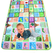 BOHS Multifunctional Baby Activity Mat Foam Fruit Letter Play Crawling Carpet Game & Outdoor Picnic Floor Mat Blanket Pad(China)